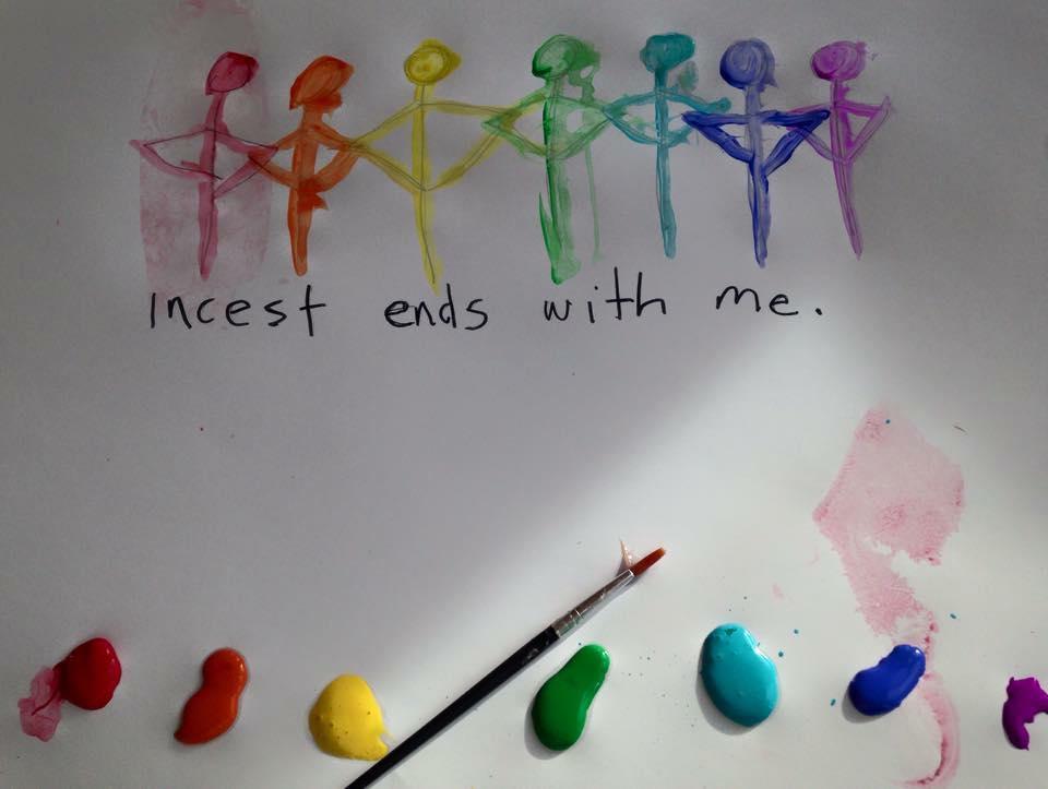 Julie Hart: Incest ends with me